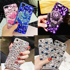 Samsung Galaxy Note 8/S8 Plus Luxury Bling Crystal Diamond 3D Flower Case Cover