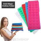 Adult Easy Magic Clothes Folder T Shirt Jumpers Organiser Fold Suitcase Laundry