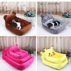Cartoon Pet Dog Cat Bed Mat Durable Kennel Doggy Puppy Cushion Basket Stack Pad