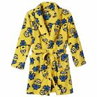 Despicable Me Bathrobe Pajama Set Boy Size 8