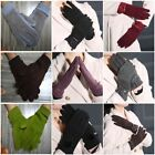 Women Touch Screen Gloves Thicken Cashmere Lace Bow-knot Wool Winter Grace Warm