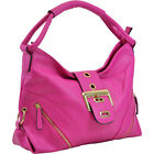 Dasein Classic Hobo with Zippered Pockets 6 Colors