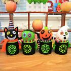 Halloween Pumpkin Ghost Design Trick Treat Sweets Candy Bucket Bag Fast Delivery
