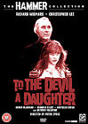 TO THE DEVIL A DAUGHTER-(DVD)-NEW&SEALED-CHRISTOPHER LEE & RICHARD WIDMARK
