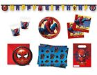 SPIDERMAN HOMECOMING Marvel Birthday Party Range Tableware & Decorations PROCOS