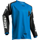 Thor Sector Zones Youth MX Offroad Jersey Blue