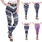 Внешний вид - Women's Ultra Soft Leggings Fun Digital Print Seasonal Elastic Stretch Pants