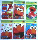Elmo Sesame St Coloring Book Crayon Set Childs Birthday Party Favors Bag Fillers