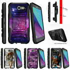 For Samsung Galaxy J3 Eclipse | J3 Mission (2017) Stand Clip Case Heavenly Stars