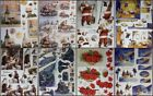 3D A4 DieCut Paper Tole Decoupage Christmas MG Car Wine Nativity Santa NoCutting
