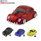 Cool 2.4Ghz Wireless VW beetle car mouse Optical PC Laptop Mice +USB Receiver US