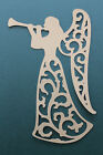 4 Elegant, Lacey, Angel Diecuts,Christmas, Decorations, Scrapbooking, Cardmaking