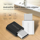 Mini POFAN Micro USB to Type-C Connector Adapter Colors