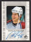 1998-99 SP Authentic Sign of the Times Autograph Hockey Cards Pick From List