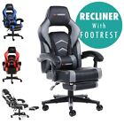 GTFORCE TURBO RECLINING LEATHER SPORTS RACING OFFICE DESK CHAIR GAMING