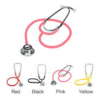 Professional Brand New Double Dual Head Pink Stethoscope In Box Hot