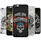 Motor Club Biker Motorbike Rider Skulls Hard Case Phone Cover for Apple Phones