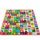 2-Side Kid Baby Crawling Educational Game Play Mat Soft Foam Activity Fun Carpet