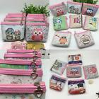 fashion cartoon child coin purse package wallet key bag 2017 new owl pattern