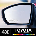 TOYOTA Wing Mirror Glass Silver Frosted Etched Car Vinyl Decal Stickers