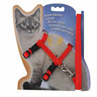 Cat Kitten Adjustable Harness Collar Durable Animal Walking Lead Pet Rabbits