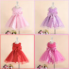 Kids Reds Christmas Party Wedding Flower Girls Dresses AGE  SZ 1,2.4.6.8.10.12 Y