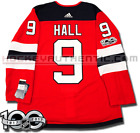 TAYLOR HALL NEW JERSEY DEVILS ADIDAS ADIZERO HOME JERSEY AUTHENTIC PRO 100TH
