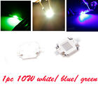 1Pc SMD 10W High Power Super Bright Light Lamp LED Chip Bead White /Blue /Green