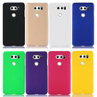 For LG V30 Snap On Rubberized Matte Hard Case cover