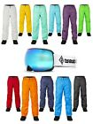 Claw Hammer Ski Pants + Summit Revo Blue Ski Goggles + Additional Amber Lens