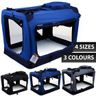 Pet Carrier Portable Folding Dog Cat Puppy Travel Fabric Crate Cage Foldable Bag
