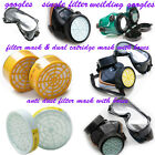 Dust Filter / Catridge / Face Mask / Fiter Carbon Box / Single / Welding Goggles