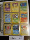 POKEMON /165 EXPEDITION MEW MEWTWO CHARIZARD HOLO RARE COM UNCOM