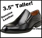 "Men 3.5"" Elevator Height increasing Casual Dress slip-on shoes size 8 9 10 11"