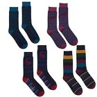 Joules Mens Single Pack Bamboo Socks One Size (7-12) Hare Pheasant Stag Stripe