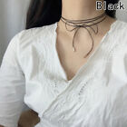 Fashion Womens Jewelry Clavicle Short Bowknot Necklace Neck Necklace Rope Chain