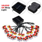 Solar/Battery Christmas LEDs Lamp Santa Claus Fairy String Light Xmas Hanging