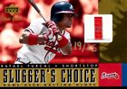 2001 Upper Deck Gold Glove Slugger's Choice Gold Card #SCRF Rafael Furcal
