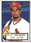 2001 Topps Heritage Baseball #197 - #399 Choose Your Cards