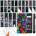 For ZTE Tempo N9131 Boost Mobile Ultra Thin Clear TPU Case Phone Cover + Pen