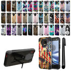 For Motorola Moto Z Droid Edition Hybrid Dual Layer Kickstand Case Cover + Pen