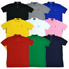 Polo Ralph Lauren Shirt Mens Classic Fit Mesh Polo Pique Knit Pony Logo Prl New