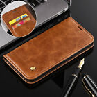 Luxury Leather Wallet For Sony Xperia XZ1 /Compact Retro Magnet Stand Case Cover
