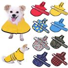 Dog Raincoat Hooded Slicker Poncho for Small to X-Large Dogs and Puppies