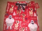 RUDOLPH The RED-NOSED Reindeer Women's LADIES FLEECE lounge SLEEP Pajama PANTS