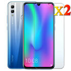 2Pcs Tempered Glass Screen Protector For Huawei Honor 8X 8 9 10 Lite 20 Pro 20i