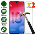 2Pcs Tempered Glass Screen Protector Film For Huawei Honor 6X 7 8X 8 9 Lite 10