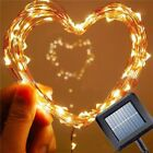 100/200 LED String Operated Copper Wire  Fairy Lights Xmas Christmas Party Lamp