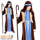 Shepherd Joseph Boys Fancy Dress Christmas Nativity Play Kids Childrens Costume