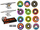 Independent Trucks Santa Cruz SKATEBOARD Vomit Mini Wheels PACKAGE Reds image